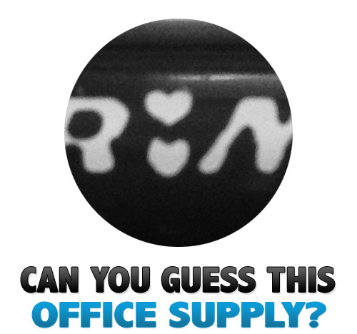 can you guess 23 Can You Guess This Office Supply? V.23