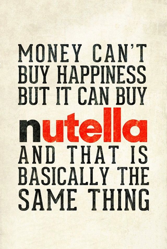 marketing. Marketing & Nutella!