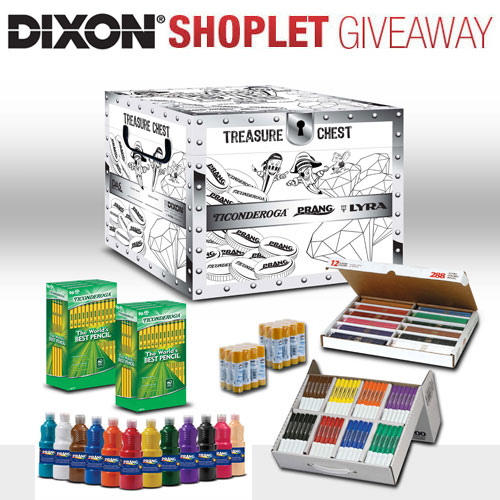 teacher kit giveaway Win a Teachers Art Supplies Kit from Dixon!