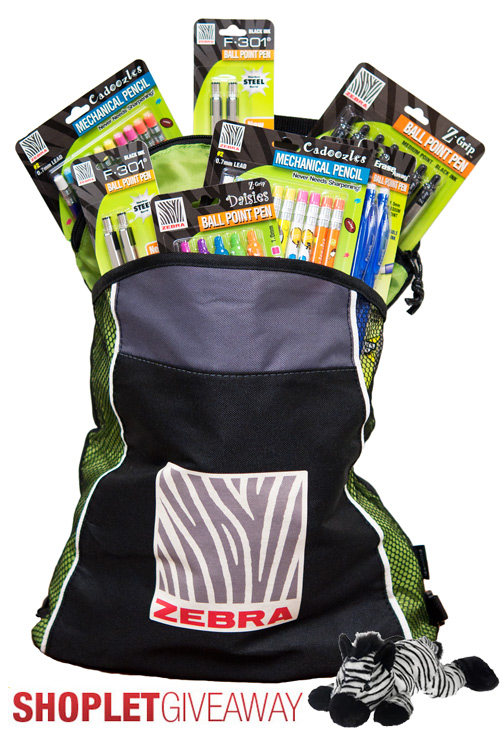 zebra pen giveaway Win a Bag of Zebra Supplies!