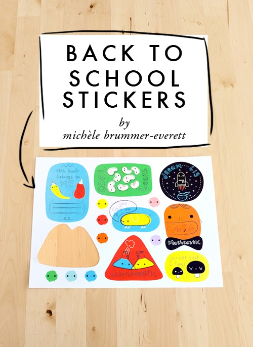 BACK TO SCHOOL STICKERS Best of Office Weekend Roundup 155