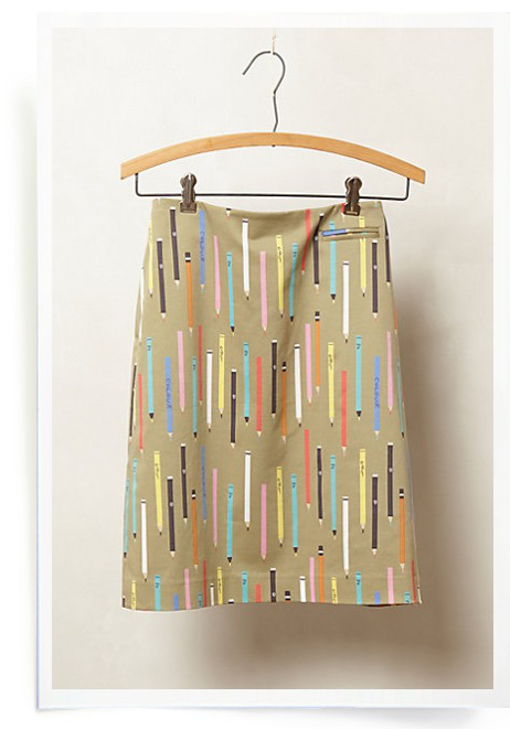 anthropologie pencil skirt Best of Office Weekend Roundup 157