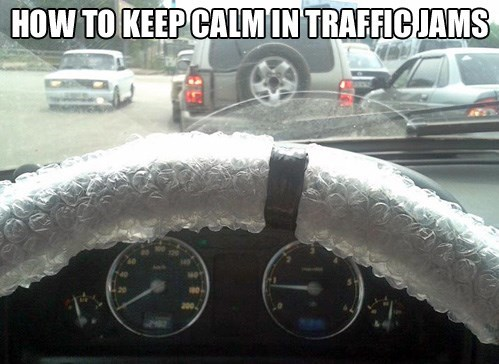 bubble wrap to keep calm Best of Office Weekend Roundup 155