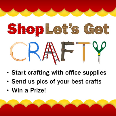 crafty ShopLet's Get Crafty Office DIY Competition 8/12 – 8/26