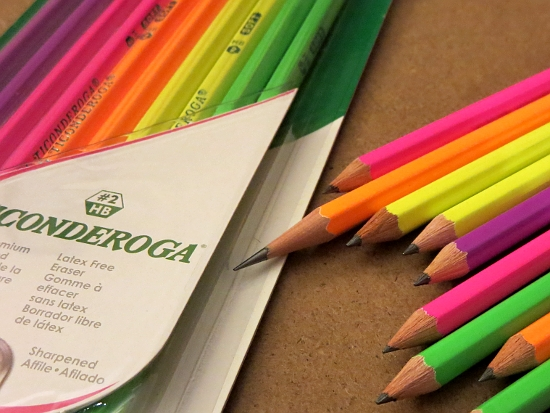 dixon neon ticonderogas Best of Office Weekend Roundup 157