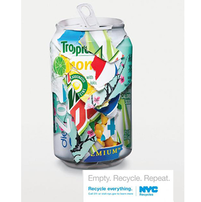 nyc recycles soda aotw 6 Recycling Facts that Will Blow Your Mind