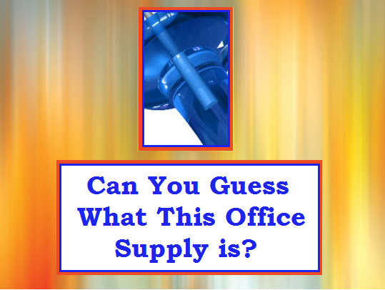 blog giveaway 9.26 Can You Guess What This Office Supply is?