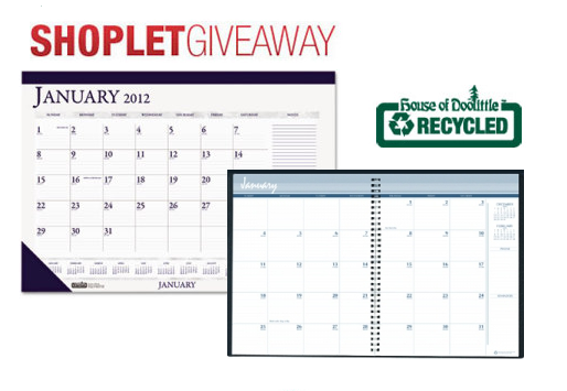blog giveaway The 3rd Annual House of Doolittle Calendar Giveaway