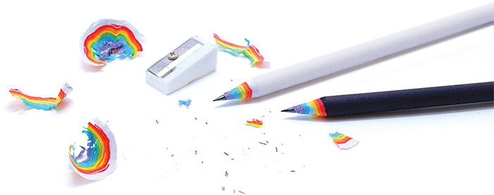 rainbow pencils Best of Office Weekend Roundup 158