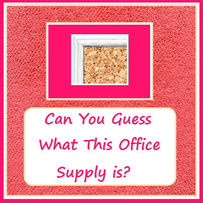10.10 Can You Guess What This Office Supply Is?