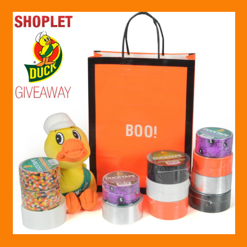 Giveaway 10.21 Duck Tape Stick Or Treat Giveaway!