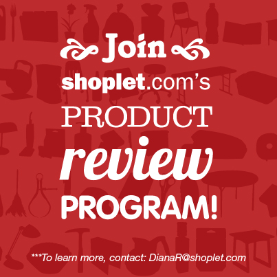 Product Reviewer Program Graphic Become a Product Reviewer for Shoplet!