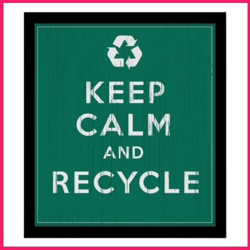 keep calm Five Simple Tips to Help Keep Your Office Green!