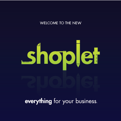 11.20 Shoplet Debuts its New Green Logo!
