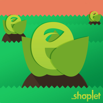"11.25 Shoplet's New ""E"": Share our FB Post, Plant a Tree!"