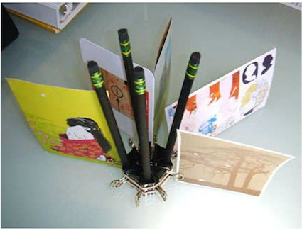 111112 30 uses for binder clips penceil pen holder 13 Binder Clip Hacks!