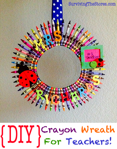 DIY Teachers Wreath Best of Office Weekly Roundup #171