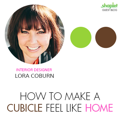 Lora Corburn Graphic1 Fab Interior Designer Lora Coburn on How to Make a Blah Cubicle Feel More Like Home