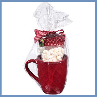 Untitled Holiday Idea: Mug Gift Baskets!