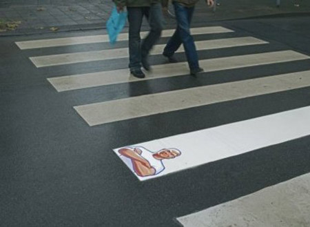 guerilla marketing example1 Wild Guerrilla Marketing