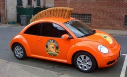 shock top car Wild Guerrilla Marketing
