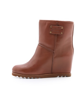 wedge Office Fashion: The Winter Boot Dilemma