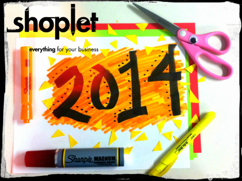 yeahyuh1 Happy 2014! Love, Shoplet