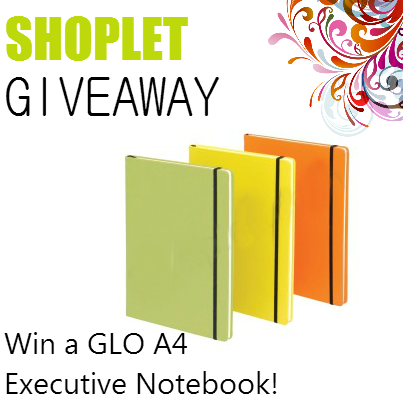 1.21 Shoplet UK: Win a GLO Notebook!