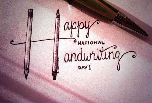 BerWKi0CYAEWYUY1 Twitter Roll: Happy #NationalHandwritingDay!