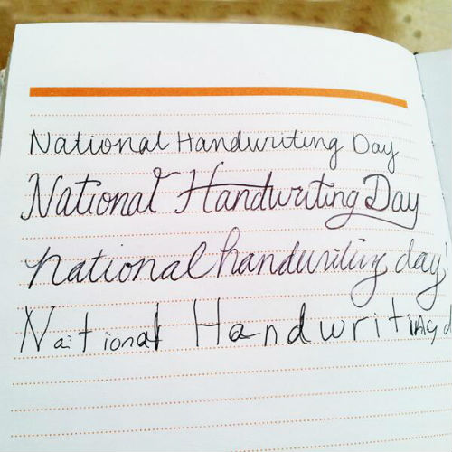 MODStudio Twitter Roll: Happy #NationalHandwritingDay!