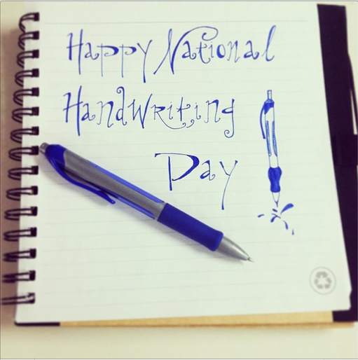 Untitled4 Twitter Roll: Happy #NationalHandwritingDay!