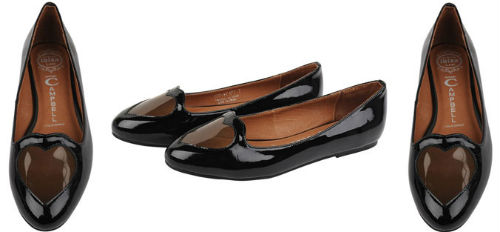 jeffrey campbell heart ballet flats Best of Office Weekly Roundup 177