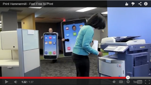 watch Introducing the Print Hammermill App!