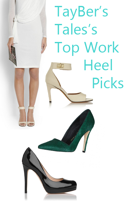 work heel pics TayBers Tales Guest Post: The Best Killer Work Heels