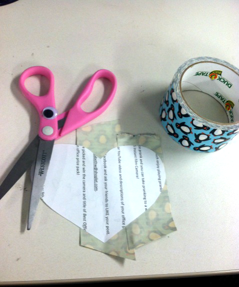 1 DIY: Make A Duck Tape Valentine!
