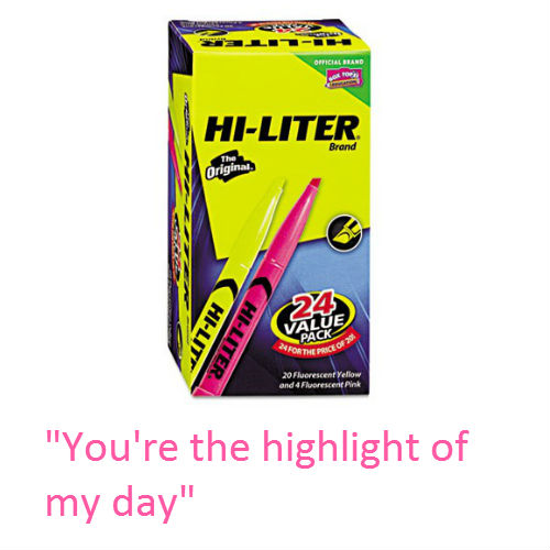 149603 Cheesy Office Supply Pick Up Lines for Valentines Day