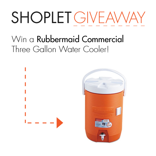 2.241 Win a Rubbermaid Commercial Products Water Cooler!