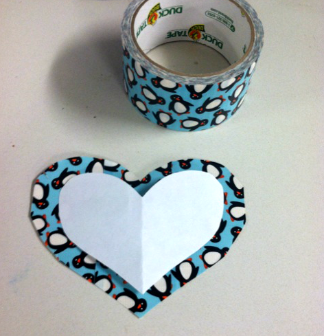 5 DIY: Make A Duck Tape Valentine!