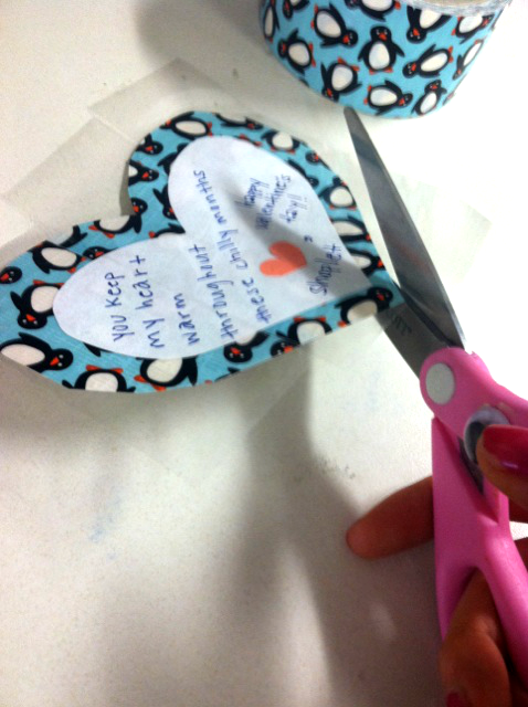 8 DIY: Make A Duck Tape Valentine!