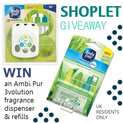 Ambi Pur UK Giveaway: Win an Ambi Pur Air Freshener!