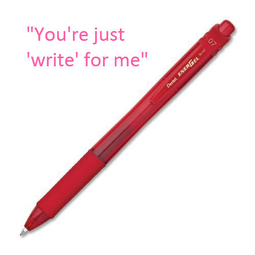 EJ1019246491 Cheesy Office Supply Pick Up Lines for Valentines Day