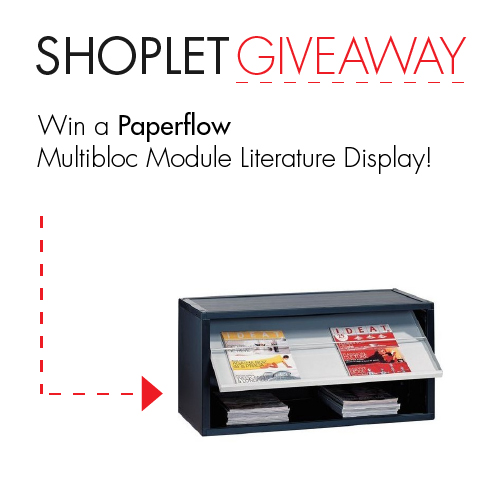 Untitled Win a Paperflow Literature Display!