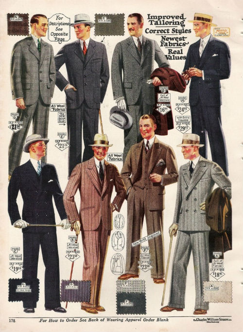d686becc6814a32320c0136df5e70811 [PART I] The Working Mans Wardrobe: 1920s 50s