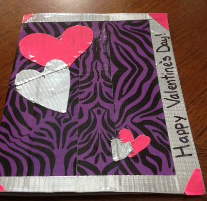 duck tape 10 Duck Tape Valentine Contest Submissions So Far!