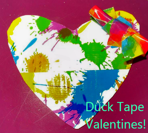 duck tape 31 Duck Tape Valentine Contest Submissions So Far!