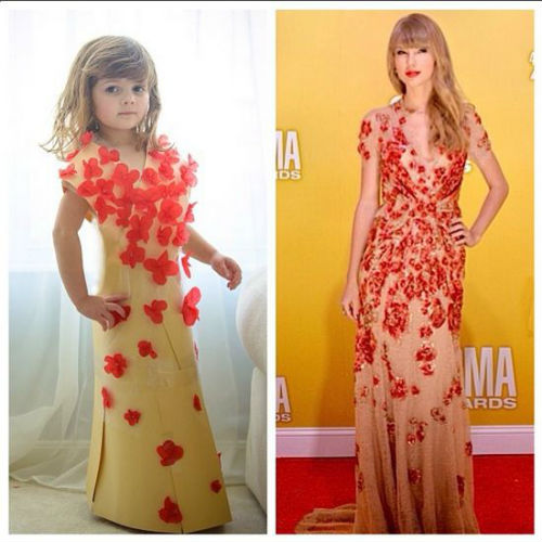 mcx 06 thing of the day mayhem1 Mommy Daughter Duo Make Dresses Out of Construction Paper + Tape