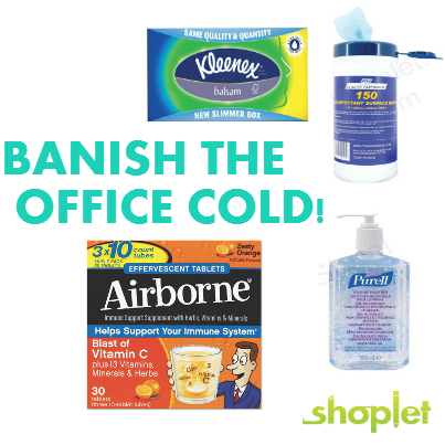 Banish Office Cold 2 Don't Crash Your Springtime Vibe by Catching an Office Cold!