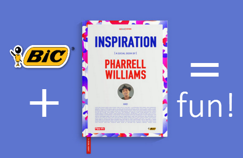 Capture2 Bic + Pharrell Williams Collaborate & Its Pretty Cool