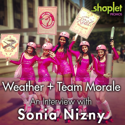 bcr 2 Weather + Team Morale:  An Interview with Brand Ambassador Sonia Nizny