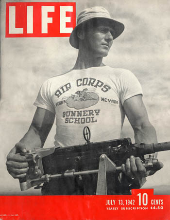 Life-Cover-1942-first-words-printed-on-a-shirt